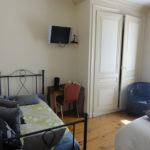 Chambre Bourgogne de l'hôtel Le Lion d'Or - Lagnieu Ain 01