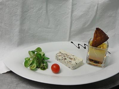 La cuisine du restaurant le Lion d'Or