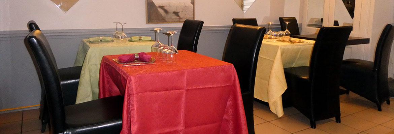 salle de restaurant le lion d'or à lagnieu